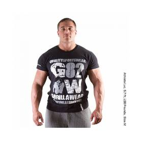 Gorilla Wear - 82 Tee, Black - Gorilla Wear t-paidat - 01844 - 1