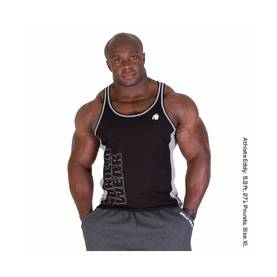 Gorilla Wear - Dunellen Tank Top, Black/Grey - Gorilla Wear tank topit - 01874 - 1