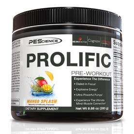 Prolific PES pre workout - Ennen treeniä - 02444 - 1