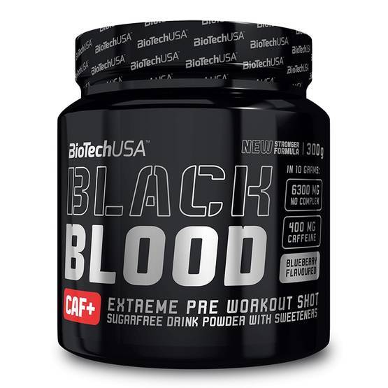 Black Blood CAF+ Biotech USA PWO - Ennen treeniä - 02674 - 1