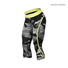 Better Bodies - Camo Capri Tights LTD Edition, Grey Camoprint - Better Bodies housut - 01765 - 1