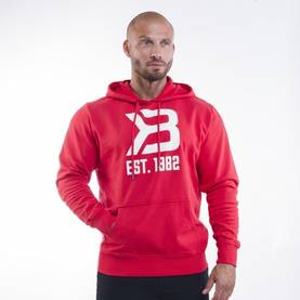 Better Bodies - Gym Hoodie, Bright Red - Better Bodies hupparit ja takit - 02875 - 1