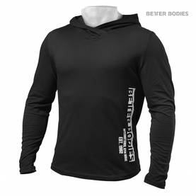 Better Bodies - Mens Soft Hoodie, Black - Better Bodies hupparit ja takit - 02465 - 1