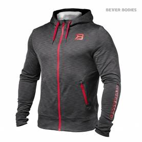 Better Bodies - Performance PWR Hood, Antracite Melange - Better Bodies hupparit ja takit - 02415 - 1