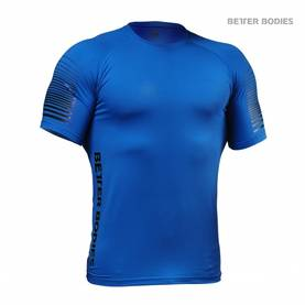 Better Bodies - Performance PWR Tee, Strong Blue - Better Bodies t-paidat - 02685 - 1
