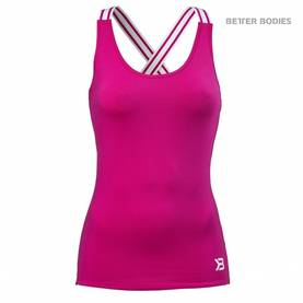 Better Bodies - Performance Shape Top, Hot Pink - Better Bodies topit - 02635 - 1