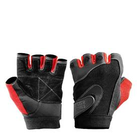 Better Bodies - Pro Lifting Glove, Black/Red - Miesten treenihanskat - 00045 - 1