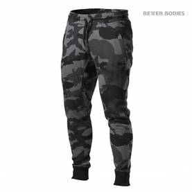 Better Bodies - Tapered Joggers, Dark Camo - Better Bodies housut - 02335 - 1