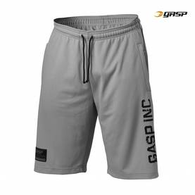 GASP - No.89 Mesh Shorts, Light Grey - GASP shortsit - 02825 - 1