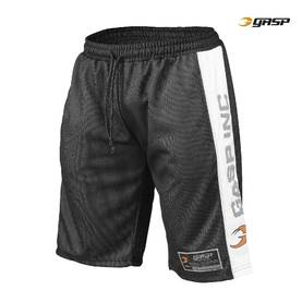 GASP - No1 Mesh Shorts, Black/White - GASP shortsit - 00095 - 1
