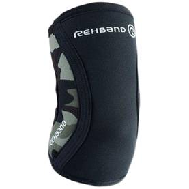 Rehband  - Rx Elbow Support 5mm, Black/Camo - Kyynerpäätuet - 01945 - 1