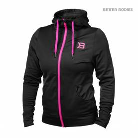 Better Bodies - Performance Hoodie, Black - Better Bodies hupparit ja takit - 06015 - 1