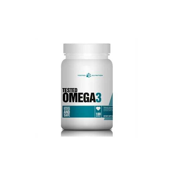 Omega-3 100 Softgels.Tested - Omega-3 - 00375 - 1