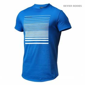 Better Bodies - Brooklyn Tee, Strong Blue - Better Bodies t-paidat - 02446 - 1