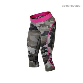 Better Bodies - Camo Capri Tights LTD Edition, Green Camoprint - Better Bodies housut - 01766 - 1