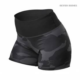 Better Bodies - Chelsea Hotpant, Dark Camo - Better Bodies shortsit - 02736 - 1