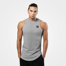 Better Bodies - Harlem Tank, Grey Melange - Better Bodies tank topit - 02816 - 1