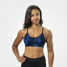 Better Bodies - High Line Short Top, Strong Blue - Better Bodies topit - 02846 - 1