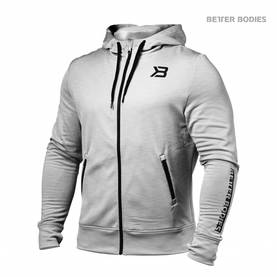 Better Bodies - Performance PWR Hood, Greymelange - Better Bodies hupparit ja takit - 02416 - 1