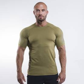 Better Bodies - Performance PWR Tee, Military Green - Better Bodies t-paidat - 06236 - 1