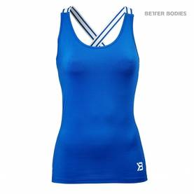 Better Bodies - Performance Shape Top, Strong Blue - Better Bodies topit - 02636 - 1
