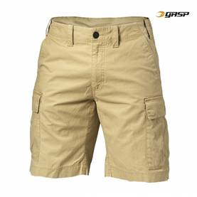 GASP - Rough Cargo Shorts, Dark Sand - GASP shortsit - 02606 - 1