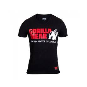 Gorilla Wear - Utah V-Neck Tee, Black - Gorilla Wear t-paidat - 02306 - 1