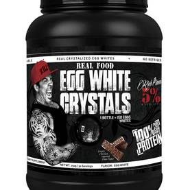 Real Food Egg White Crystals, 810g.Rich Piana 5% Nutrition - Kananmunaproteiinit - 02916 - 5