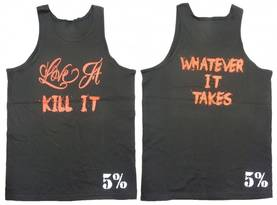 Whatever It Takes Tank.Rich Piana 5% Nutrition - Tank topit - 01776 - 1