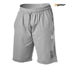 GASP - Throwback Sweatshorts, Light Grey - GASP shortsit - 06356 - 1