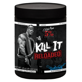 Rich Piana Kill It Reloaded 5% Nutrition PWO/tehonlisääjä - Ennen treeniä - 07126 - 1
