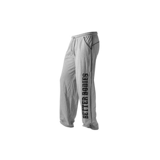 Better Bodies - Mens BB Gym Pants Grey - Better Bodies housut - 00546 - 1