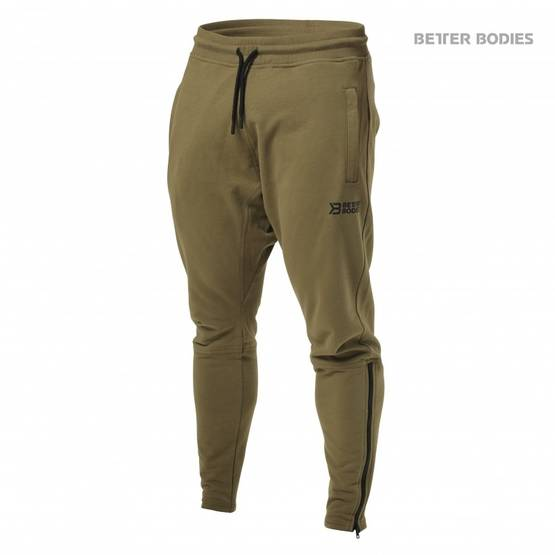 Better Bodies Harlem Zip Pants housut - Better Bodies housut - 02796 - 1