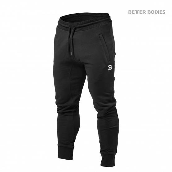 Better Bodies Tapered Joggers Housut - Better Bodies housut - 02336 - 1