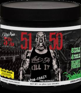 51-50, 30 servings.Rich Piana 5% Nutrition - Ennen treeniä - 02127 - 2