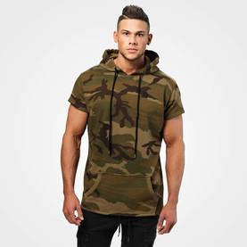 Better Bodies - Bronx T-Shirt Hoodie, Military Camo - Better Bodies hupparit ja takit - 06277 - 1