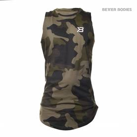 Better Bodies - Harlem Tank, Military Camo - Better Bodies tank topit - 02817 - 1