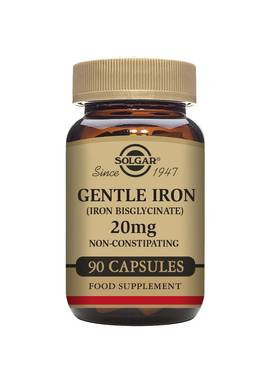 Gentle Iron 20mg,90kaps. Solgar - Vitamiinit - 06147 - 1