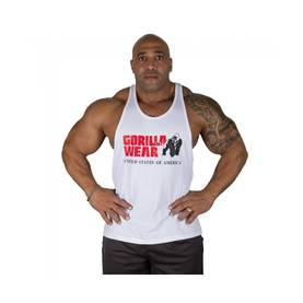 Gorilla Wear - Classic Tank Top, White - Gorilla Wear tank topit - 01857 - 1