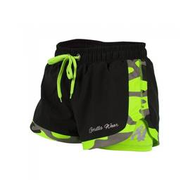 Gorilla Wear  - Denver Shorts, Black/Neon Lime - Gorilla Wear shortsit - 01987 - 1