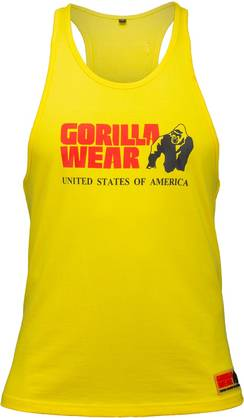 Gorilla Wear - Gwear Stringer Tank Top, Grey - Gorilla Wear tank topit - 01847 - 1