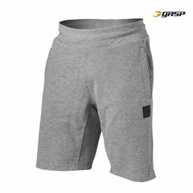 GASP- Legacy Gym Shorts, Grey Melange. - GASP shortsit - 02887 - 1