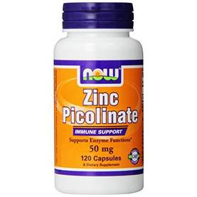 Zinc Picolinate 50mg, 120kaps.NOW Foods - Vitamiinit - 02937 - 1