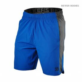 Better Bodies - Brooklyn Shorts, Strong Blue - Better Bodies shortsit - 02688 - 1