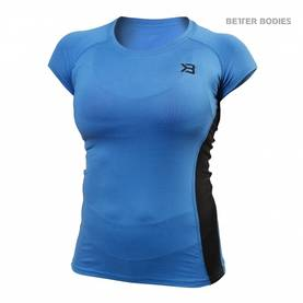 Better Bodies - Performance Soft Tee, Bright Blue - Better Bodies t-paidat - 02098 - 1