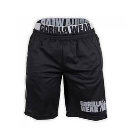 Gorilla Wear - California Mesh Shorts, Black/Grey - Gorilla Wear shortsit - 01888 - 1