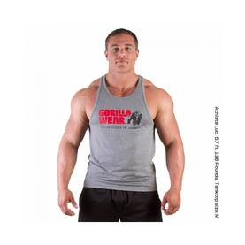 Gorilla Wear - Classic Tank Top, Grey - Gorilla Wear tank topit - 01858 - 1
