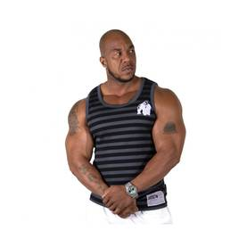 Gorilla Wear - Stripe Tank Top, Black - Gorilla Wear tank topit - 02008 - 1