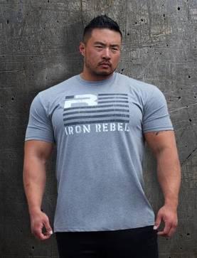 """65fb7f0ddf65ac Iron Rebel"""" Rebel Flag"""" Shirt t-paita - Iron Rebel t-paidat"""