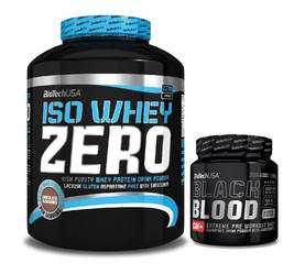 Iso Whey ZERO Lactose Free 2270g.Biotech USA + CAF+ - Heraproteiinit - 01008 - 1